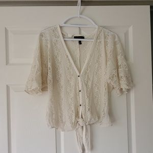 Lace Jessica Simpson blouse